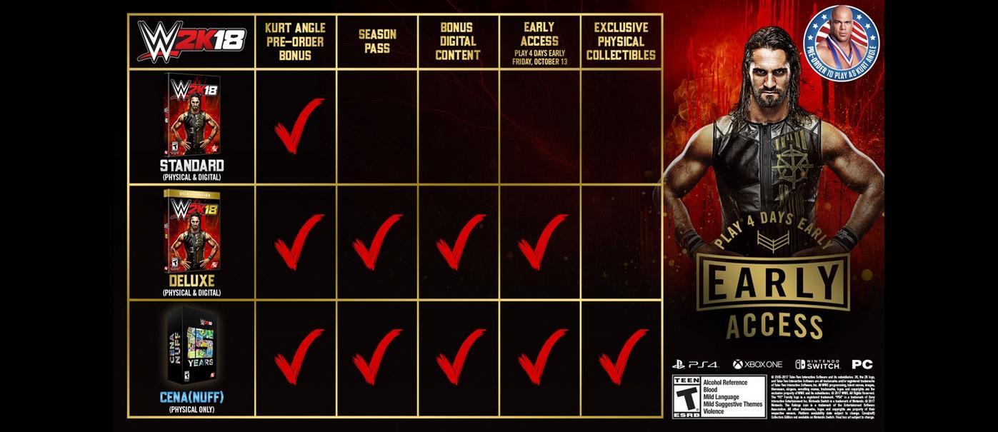 Amazon com: WWE 2K18 - Xbox One: Video Games