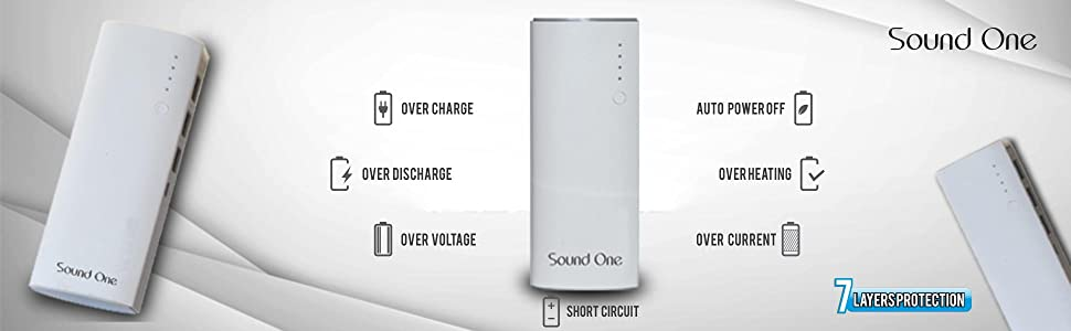 Features Of Sound One Power Banks White Online