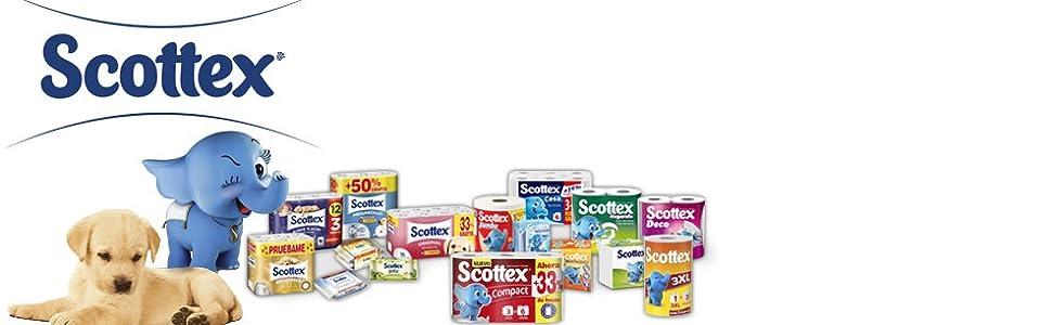 SCOTTEX pañuelos faciales caja 70 uds: Amazon.es: Salud y cuidado personal