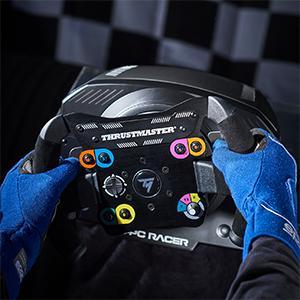 Racing Simracing Simulator Thrustmaster TS-PC add on wheel