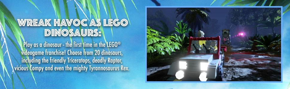 LEGO Jurassic World Out 20th September