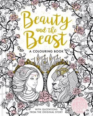 The Beauty And Beast Colouring Book