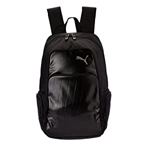 3c2515160e Puma Black-Cool Gray- Silver Casual Backpack (7293401)  Amazon.in ...