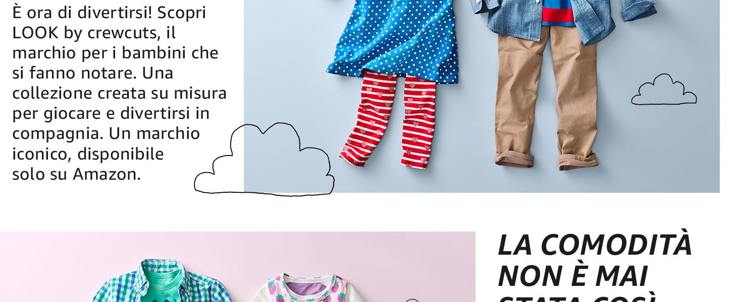 Marchio  // J Crew confezione da 2 LOOK by crewcuts Pantaloncini da bambina