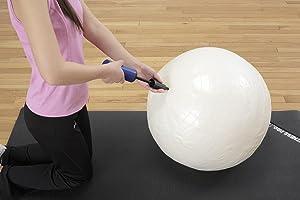 バランスボール エクササイズボール エアーポンプ
