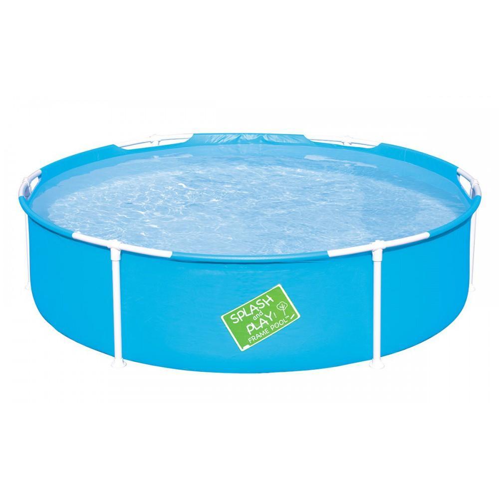Bestway mi primera piscina piscina infantil de 152 x 38 for Montaje piscina bestway