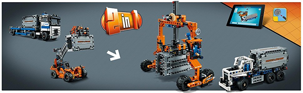 レゴ(LEGO)テクニックコンテナトラック&ローダー