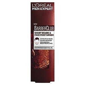 L'Oreal Paris Expert Barber Club Short Beard & Face Moisturiser, 50ml