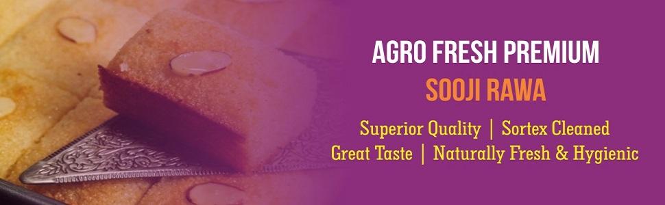Agro Fresh Premium Sooji Rawa