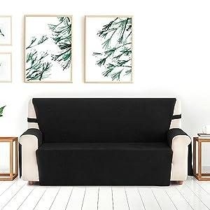Blindecor Estor Enrollable Translucido Liso, Poliéster, Lino, 100 x 200 cm