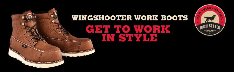 1a14e10fbf1 Irish Setter Men's Wingshooter ST-83632 Work Boot