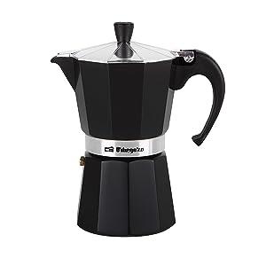 Orbegozo KFN910 KFN 910-Cafetera, 9 Tazas, Color Negro, Aluminio ...