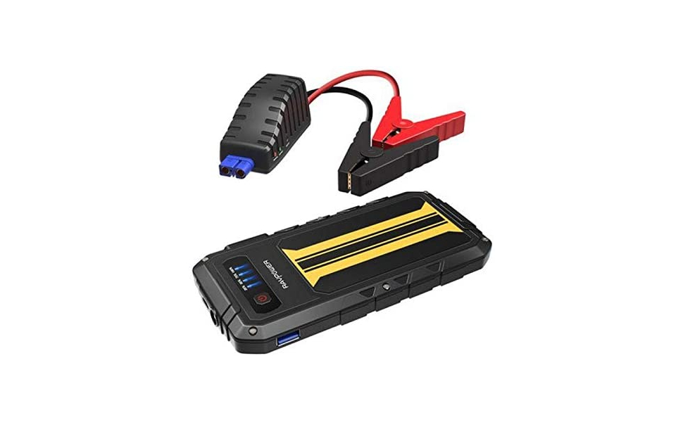 RAV Power battery and a 8000 mA car charger
