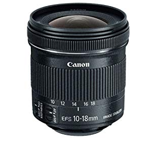Canon EF-S 10-18mm f/4.5-5.6 IS STM Ultra-Wide Zoom Lens