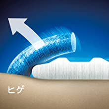 ②④アゴ下の寝たヒゲもとらえる「くせヒゲリフト刃」