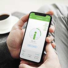 Biofeedback, real-time vibration, UPRIGHT GO, mobile app