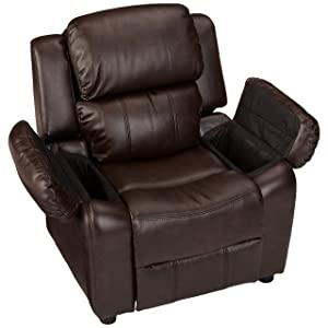 Reclining Feature and LeatherSoft Upholstery