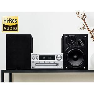 CDの音源よりも解像度の高いハイレゾ音源に対応