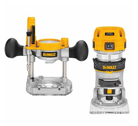 Dewalt dwp611 hp max torque variable speed compact for 1 8 hp electric motor variable speed