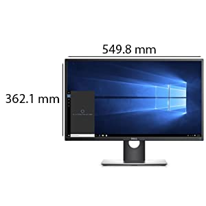 """Dell Professional P2017H 19.5"""" Screen LED-Lit Monitor"""