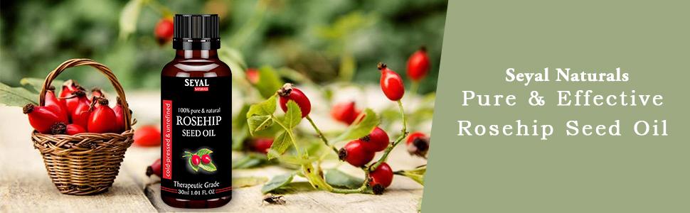 Roseship seed oil