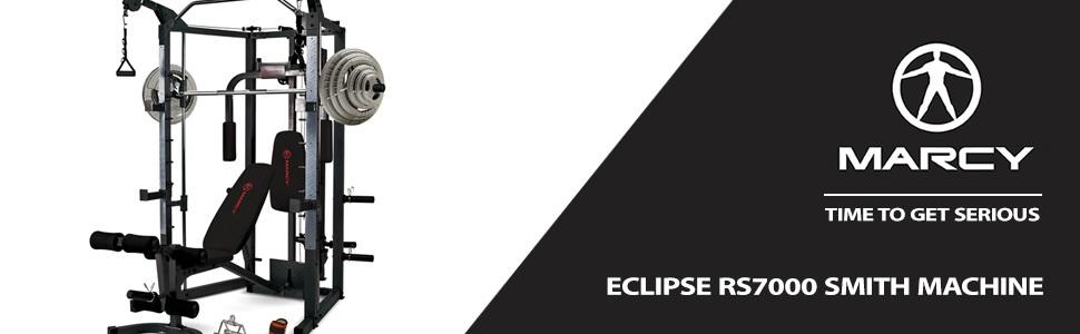 Marcy multiestación Eclipse RS7000 Deluxe smith cage: Amazon.es ...