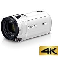 Panasonic 4K ビデオカメラ VZX990M 64GB あとから補正 ホワイト HC-VZX990M-W