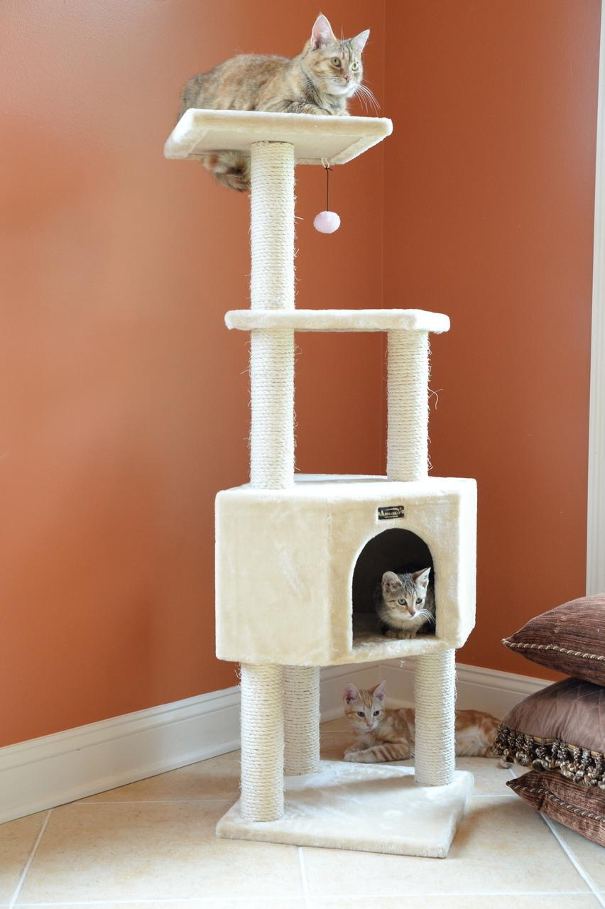 With 100 unique models the armarkat brand encompasses the deepest line of cat trees in the u s market in addition a growing line of approximately 75 pet