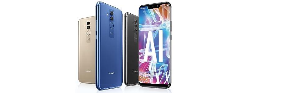 Huawei Mate20Lite 4 GB/64 GB Dual SIM Smartphone: Huawei: Amazon ...