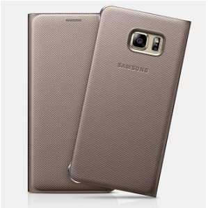 samsung s view etui pour samsung galaxy s6 edge plus or high tech. Black Bedroom Furniture Sets. Home Design Ideas