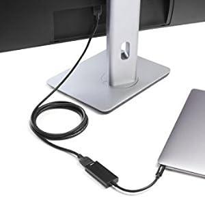 Amazonベーシック USB3.1タイプC - HDMIアダプター ブラック