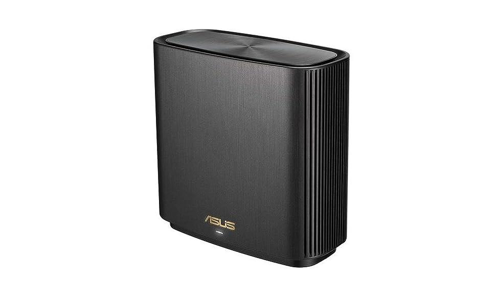 Copertura fino a 230 m/²//4+ Camere Bianco 3 SSID 1 Pezzo Porta 2.5G ASUS ZenWifi Sistema Wi-Fi 6 tri-band AX6600 Whole-Home Sicurezza della Rete Controllo Genitori incluso a Vita 6.6 Gbps Wi-Fi