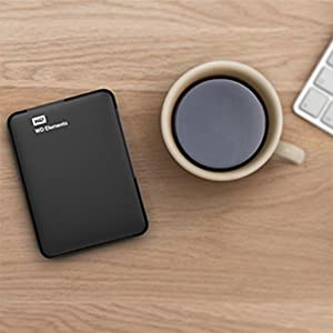 WD 500GB Elements Portable External Hard Drive - USB 3.0