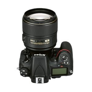 Nikon AF-S 105MM F/1.4E ED - Objetivo para montura F (distancia ...
