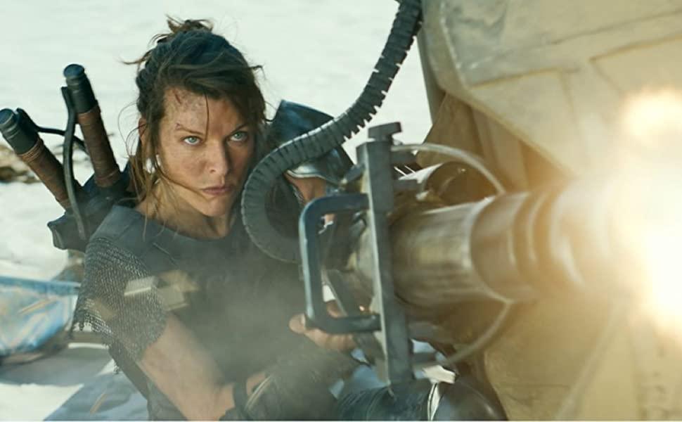 Mila Jovovich, resident evil, science fiction, action, underworld