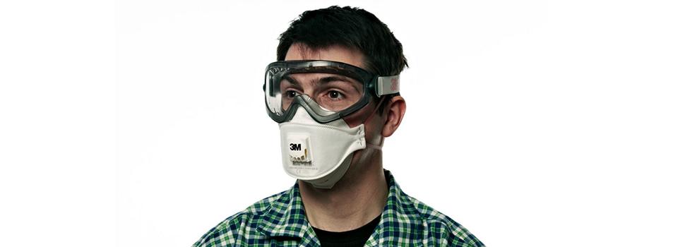 3m respiratore per polveri serie aura