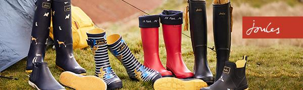 Joules Short Welly, Women's Ankle Boots