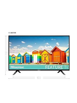 Hisense H40BE5000 - TV LED 40 Full HD, 2 HDMI, 1 USB, salida ...