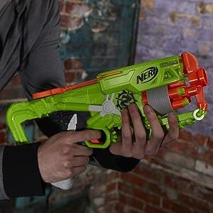 Nerf Zombie Strike outbreaker Ballesta acción hecha por Hasbro Nuevo Sellado
