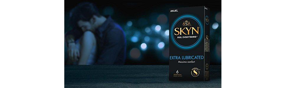preservativi SKYN extra lubricated