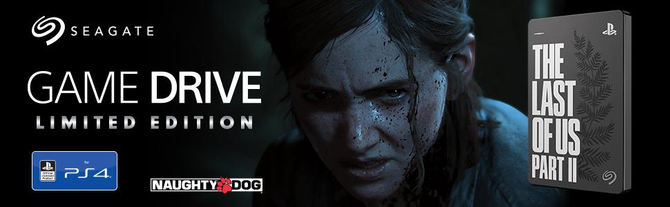 The Last of Us Part II Limited Edition Game Drive for PS4