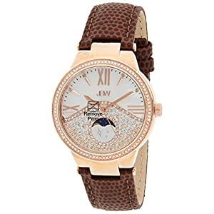 JBW Womens Quartz Watch, Analog Display and Leather Strap