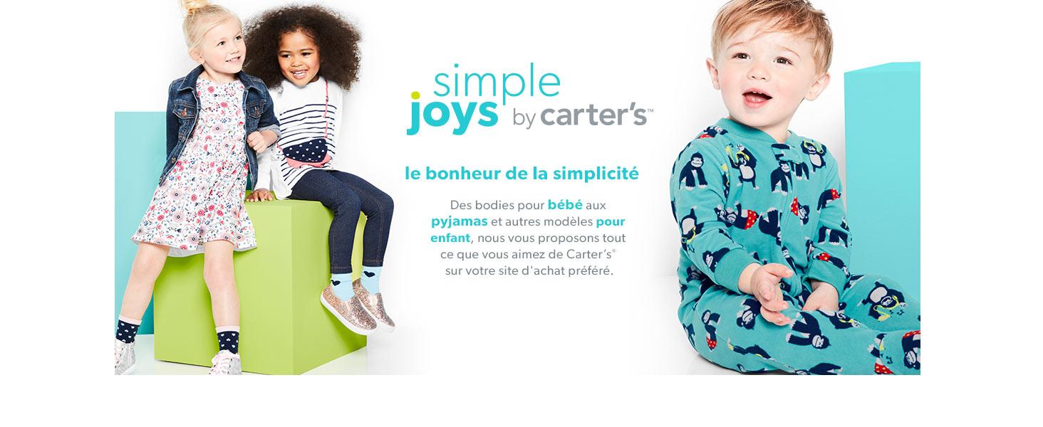 Simple Joys by Carters Sweat /à capuche avec doublure Sherpa pour b/éb/é gar/çon