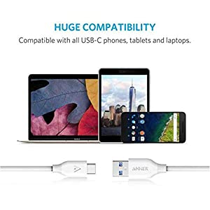 Anker 3 Feet Powerline USB C to USB 3.0 Cable