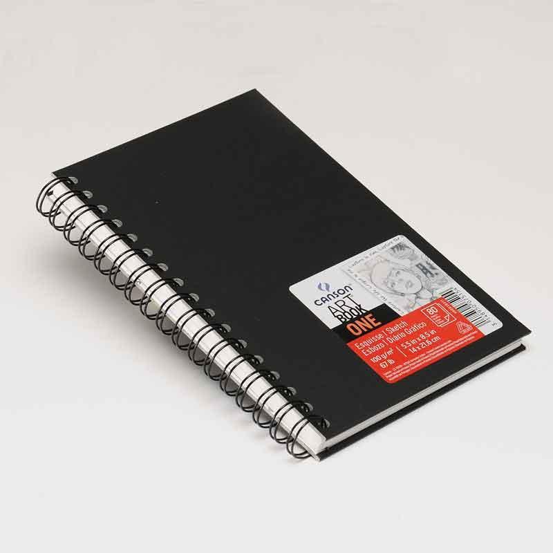 Canson Art Book One - Cuaderno de dibujo, 14 x 21.6 cm, 98