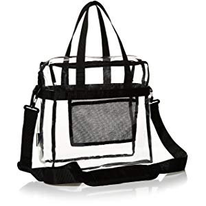 AmazonBasics Stadium Approved Tote For Women, Clear