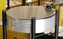 Trangiaのアルミ製品はすべてスウェーデン自社工場で生産されている。