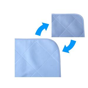 山善(YAMAZEN) 枕カバー ブルー 40×30cm