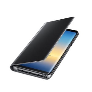 Galaxy Note8用 Clear View Standing Cover