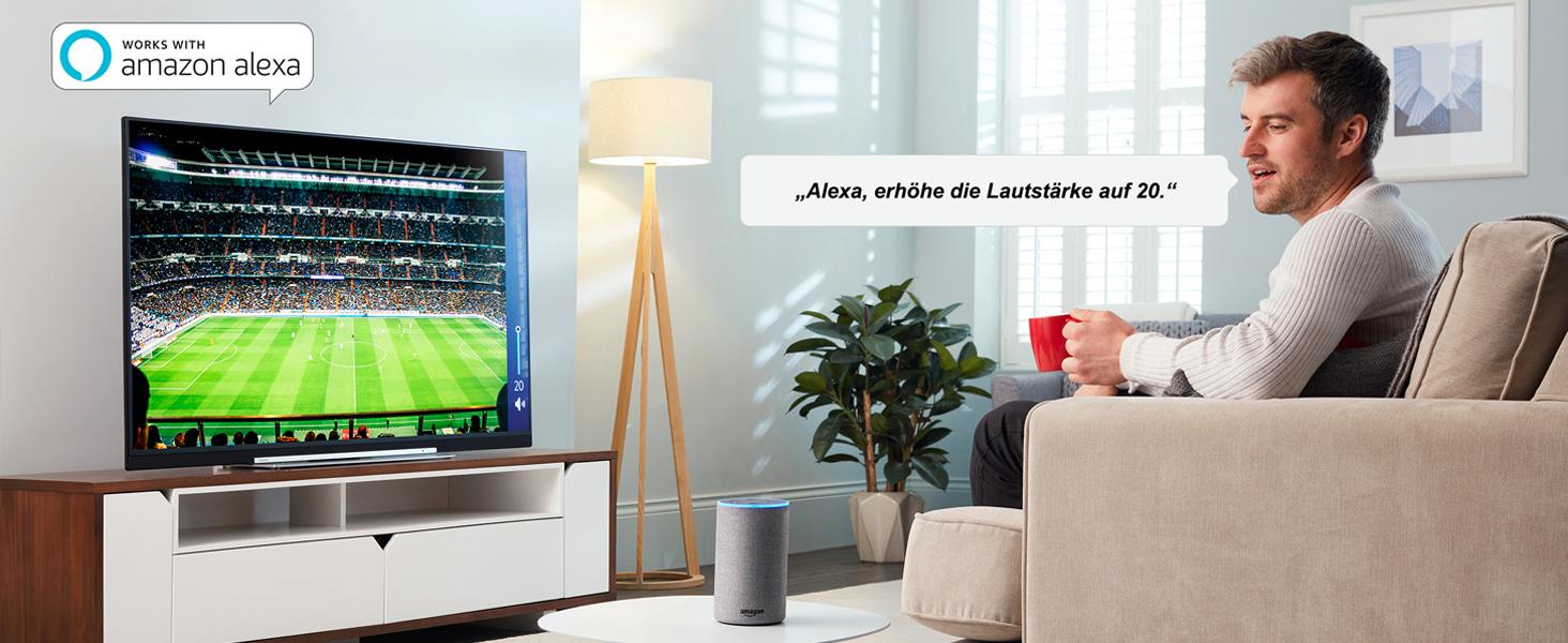 Toshiba UHD Smart TV Alexa Ready